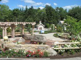 Boothbay Botanical Gardens Maine Coastal Botanical Gardens 1 Lush Lerner Garden Dsc 6435