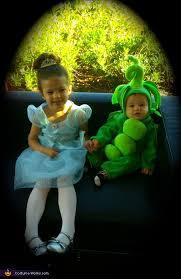 Pea Halloween Costume Princess Pea Costume
