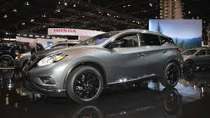 2017 nissan murano platinum white nissan murano midnight edition showcased at 2017 chicago auto show