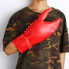 Lobster Costume Online Shop Takerlama 1 Pair Lobster Claws Gloves Halloween Party