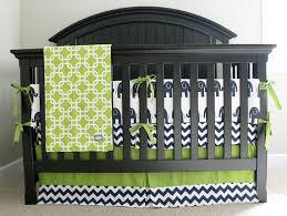 Green Elephant Crib Bedding Elephant Crib Bedding Navy Blue Lime Green Nursery Baby Boy