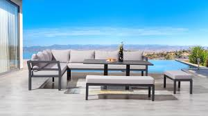 Discount Outdoor Furniture by Bondi Outdoor Lounge Dining Combo Lavita Furniture Outdoor