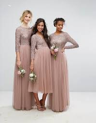 sequin bridesmaid dresses beaded metallic and sequined bridesmaid dresses