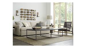 crate and barrel living room lounge ii 93 sofa in sofas reviews crate and barrel