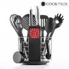 ou acheter des ustensiles de cuisine ustensiles de cuisine avec minuteur et support cook d 24 pièces