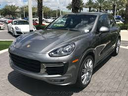porsche cayenne blacked out 2017 new porsche cayenne gts awd at porsche west broward serving