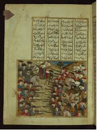 Ottomans Turks Ottoman Turks Fighting The Army From The Hamse Quintet