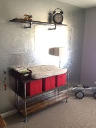 Metal Changing Table 12 Best Industrial Nursery Images On Pinterest Child Room