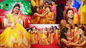 haldi ceremony invitation 5 striking haldi for the indian bride fullonwedding