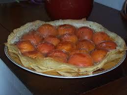 cuisiner feuille de brick recette tarte en feuilles de brick aux abricots recette tarte en