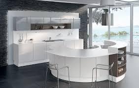 cuisine en u avec ilot cuisine en u blanche photos de design d intérieur et décoration de