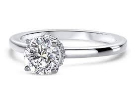solitaire engagement ring cut solitaire gallery engagement ring in platinum