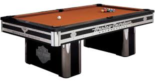 Harley Davidson Home Decor by Furniture Awesome Black Billiard Table With Brown Top By Harley
