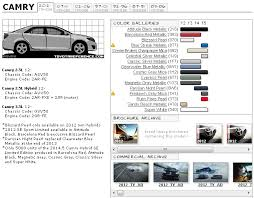 toyota camry 2012 paint codes and media archive camry forums