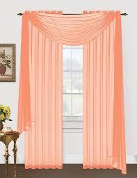 fantastic peach sheer curtains brilliant ideas 17 best ideas about