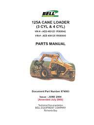 874003 pm 125a cane loader