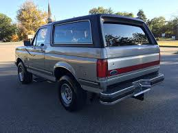 ford bronco 2017 4 door all original 1988 ford bronco offroad for sale