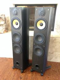 floor standing speakers for home theater rare pair of sony ss k90ed floorstanding speakers for sale in
