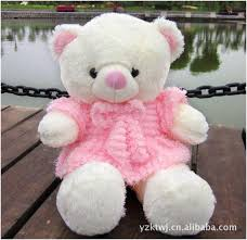 big valentines day teddy bears 60cm big teddy plush toys wholesale juice skirt