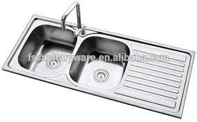 stainless steel kitchen sink sizes big size stainless steel kitchen sink for africa market double bowl