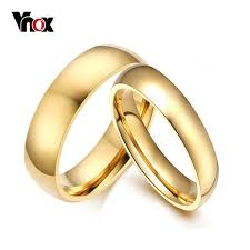 aliexpress buy vnox 2016 new wedding rings for women aliexpress buy vnox simple wedding bands rings 2pcs lots
