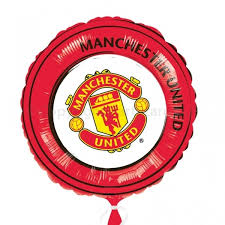 balloons in a box delivery manchester united helium filled balloon gift sport theme balloon