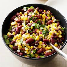 cuisiner haricots rouges salade de maïs et haricots rouges toutes les bonnes recettes