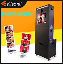 photobooth printer customized photo booth 19 inch lcd screen touch selfie booth wifi