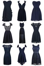 lily boutique gorgeous navy blue bridesmaid dresses at www