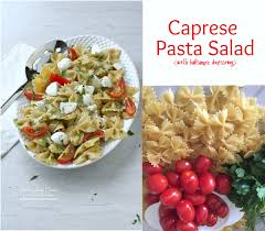 easy pasta salad caprese pasta salad with balsamic dressing
