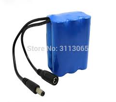 light and battery store 18650 lithium battery pack 11 1v 12v 4800mah for spotlight lithium