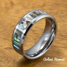 titanium style rings images Tungsten carbide wedding bands aolani hawaii jpg