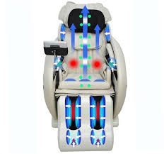 electric full body massage chair recliner zero gravity cream