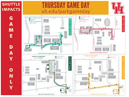 campus parking on game day university
