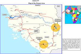 africa map gambia gambia river basin organization seeks to develop 20 mw saltinho