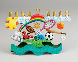 sports menorah childrens menorahs zion lion