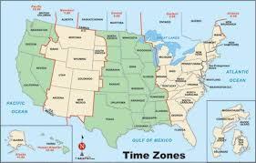 zone map for usa geography us maps zones