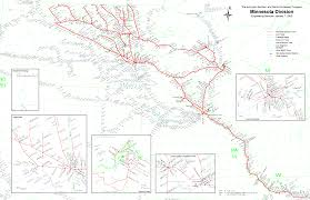 Northern Colorado Map by Multimodalways Burlington Northern Santa Fe Railway Archives Maps
