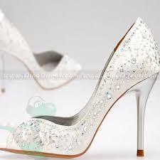 wedding shoes jeweled heels high heel wedding shoes jeweled high heels white satin