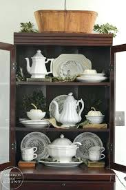 how to arrange a china cabinet pictures how to arrange china and crystal in a china cabinet decorating with