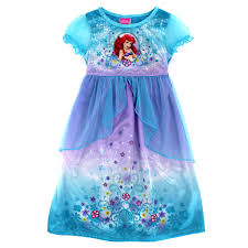 disney princess ariel the mermaid gown nightgown