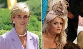 lady charlotte diana spencer lady kitty spencer is delighted to be compared with her aunt diana