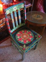 painted chairs images 111 best hand painted stools u0026 chairs images on pinterest chairs