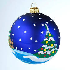 american christmas glass ornaments set of 3 blue yolkstar