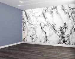 Best Peel And Stick Wallpaper by Marble Wallpaper Etsy