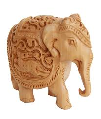 home decor elephants crafts gallery wooden elephant statue animal carving sculpture