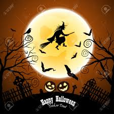happy halloween greeting card elegant design with bats owl