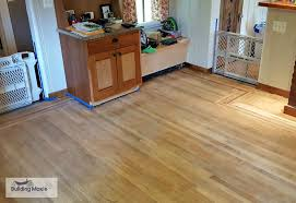 Laminate Flooring For Kitchens Floors A Kitchen U0027s Stained Black Floor A Modern Look When