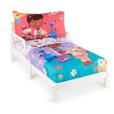 disney doc mcstuffins toddler u0027s 4 piece bedding set