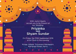Design Card Wedding Invitation Vivid Indian Wedding Invite Design Print Ready Invite Indian